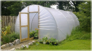 Greenhouse grow bags