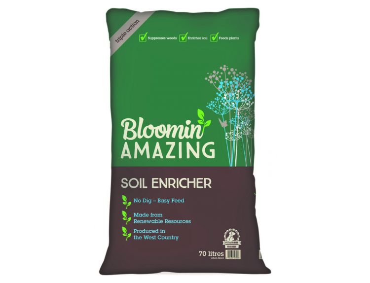 Bloomin Amazing Soil Enricher 3 in 1 70L - image 1