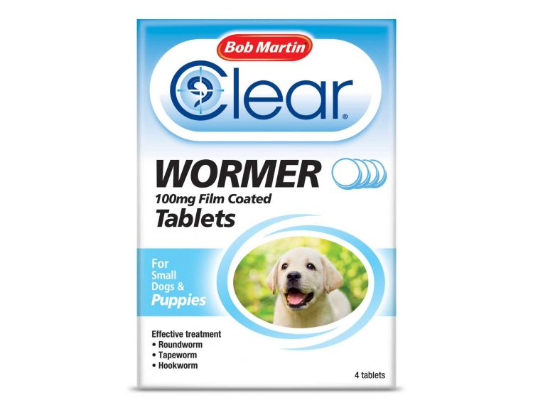 Bob Martin Clear Wormer Dog All In 1 Puppy 3 Tablets