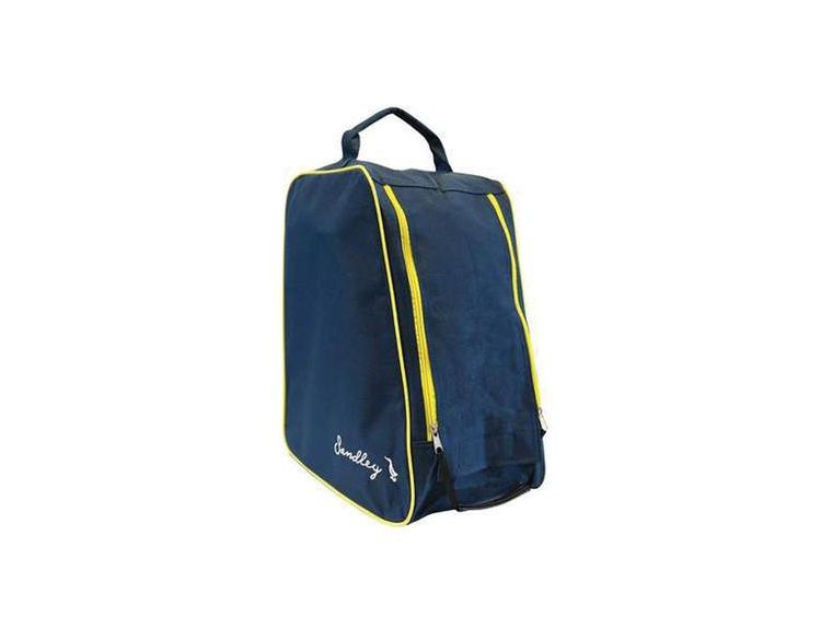 Briers Sandley Navy Yellow Boot Bag