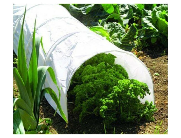 Grow Tunnel with Polythene Cover