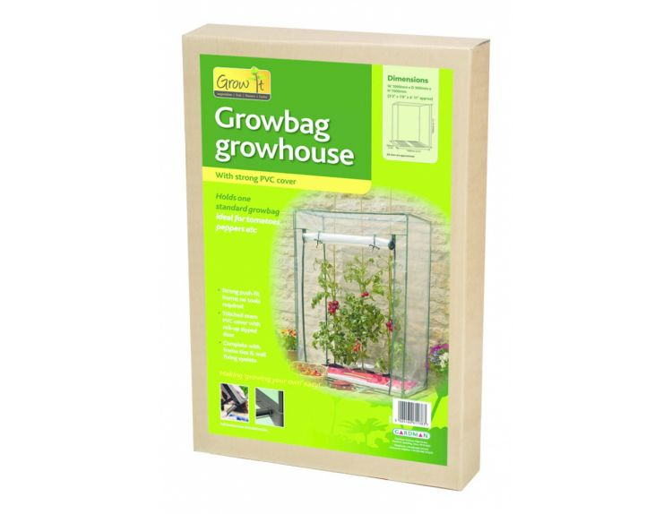 Growbag Growhouse with Clear Plastic Cover - image 2