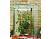 Growbag Growhouse with Clear Plastic Cover - image 1