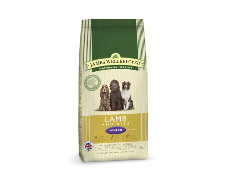 James Wellbeloved Senior Lamb & Rice (2kg)