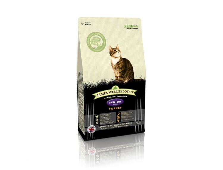 James Wellbeloved Senior Turkey (1.5kg)