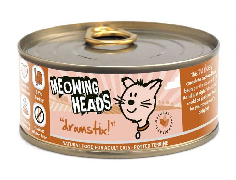 Meowing Heads Drumstix (100g)