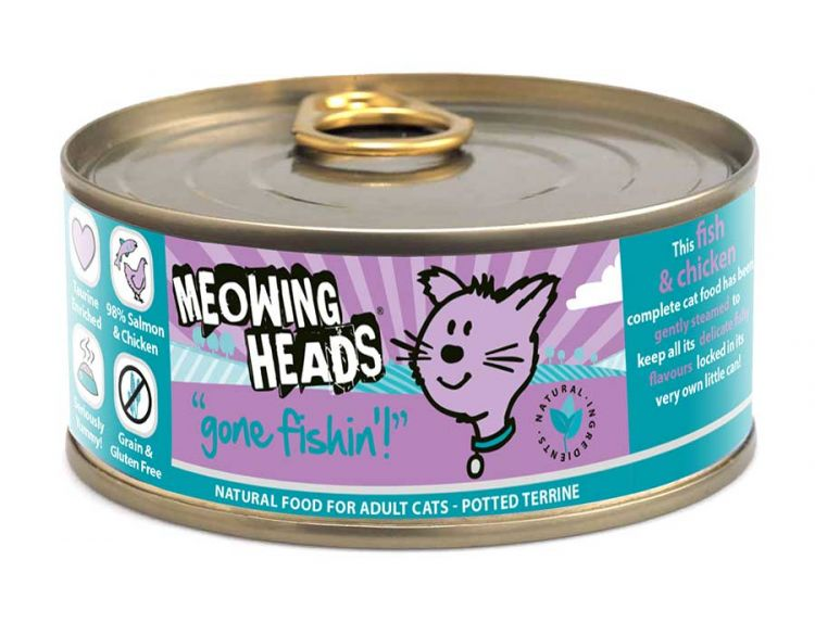Meowing Heads Gone Fishing (100g)