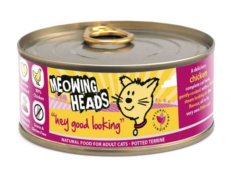 Meowing Heads Hey Good Looking (100g)