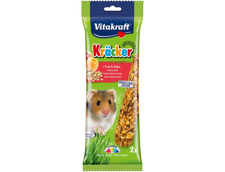 Vitakraft Kräcker Hamster Fruit & Flakes Sticks