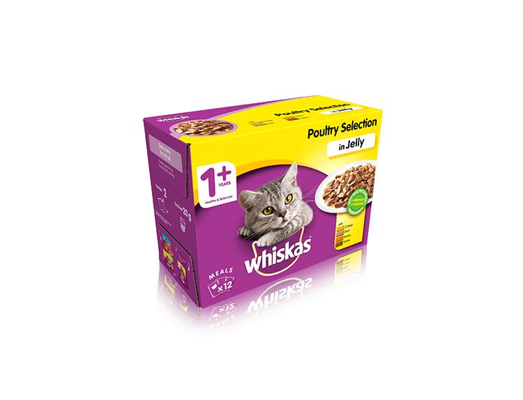 Whiskas 1+ Mixed Selection Cans (12x100g)