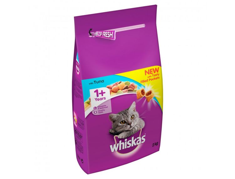 Whiskas Dry with Tuna 2kg